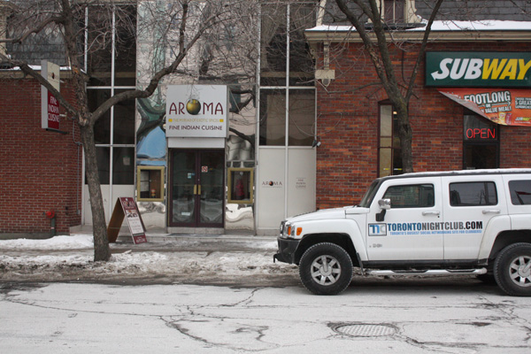Aroma fine dining toronto indian restaurant for Aroma indian cuisine toronto